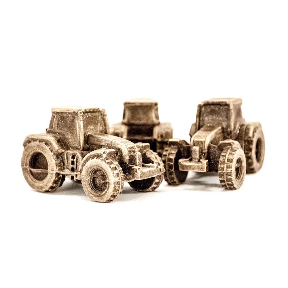 Traktorer i ( 3 stk. ) lille gaveæske 135 g
