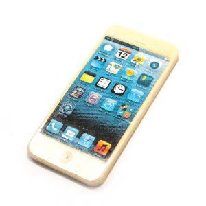 Iphone 4 i hvid chokolade 65 g