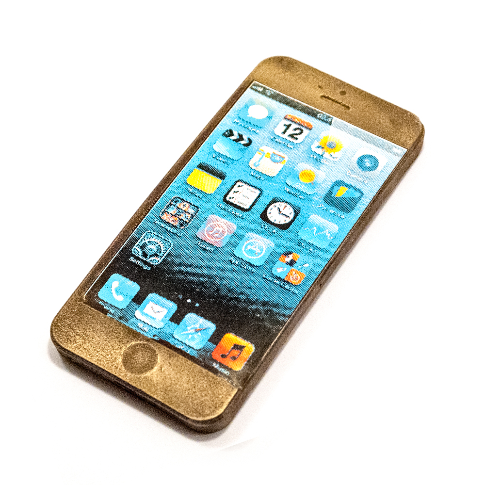 Iphone 4 i Guld look 65 g