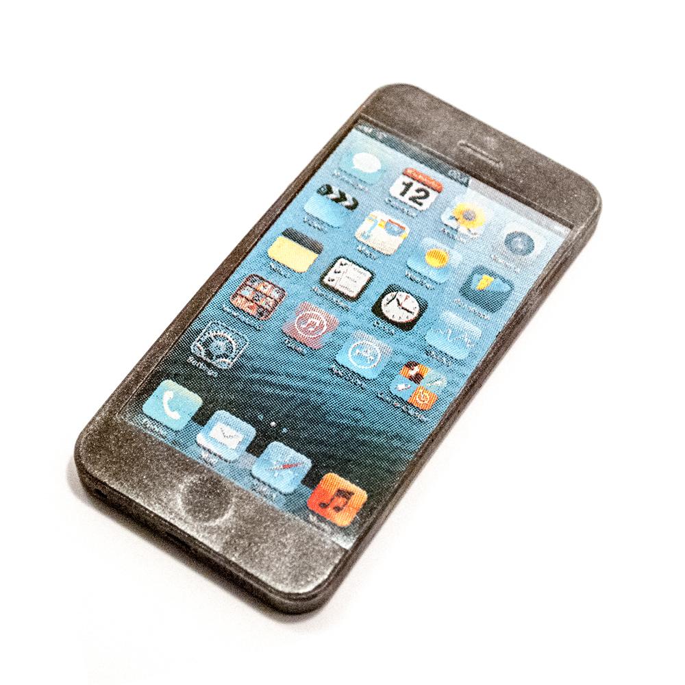 Iphone 4 i Sølv look 65 g