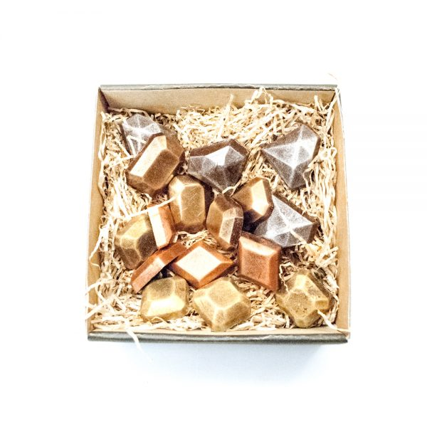 Juveler / Ædelsten i lille gaveæske 120 g