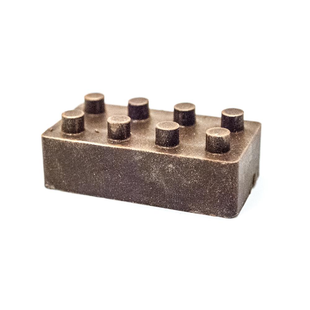 Bygge LEGE klods ( 1 stk. ) mørk chokolade 20 g