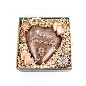 Mors dags hjerte i lille gaveæske 160 g