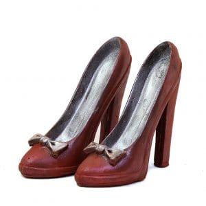 fddbf1a490c2 Flotte højhælede sko i realistisk look rød 140gr